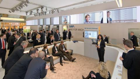 SAP Messeauftritt